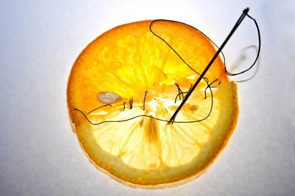 The lemon and the orange: Soulmates do not exists. It's all about the differences between us.