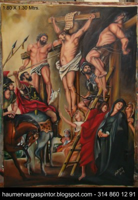 Crucifixión de Rubens - Christ on the Cross between the Two Thieves